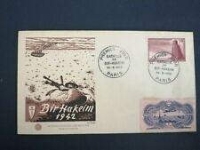 FRANCE PREMIER JOUR FDC YVERT 925 BATAILLE DE BIR HAKEIM 30F PARIS 1952