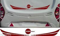 Bürstner Wohnwagen/Wohnmobil 2 Teile Kit Aufkleber Sticker Farbwahl & Größe