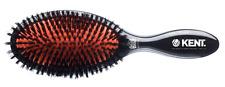 Kent Classic Brushes Oval Cushion Luxurious Hairbrush, Black CSFL, Large
