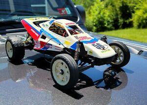 Vintage Orginial 80's Tamiya Grasshopper II 2. Complete Buggy w/ Xtra Wheels