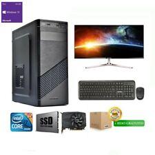 PC FISSO INTEL QUAD CORE I7- 16 GB RAM- SSD 480 GB- NVIDIA 4 GB- WINDOWS 10 PRO