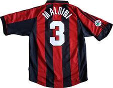 maglia milan Maldini #3 adidas Opel  1998 1999 Home Jersey rossoneri Vintage L