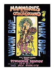 MAMMARIES FROM THE OTHERGROUND  VAUGHN & MARK BODE  PROMOTIONAL POSTCARD