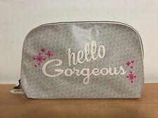 """Benefit """"Hello Gorgeous"""" 2018 Brows Dome Makeup Travel Size Gift Bag"""