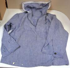 ORIGINAL Matrosenhemd weiß Bordhemd mit Marinekragen MARINEHEMD (warsch. Frank)