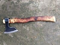 BEARDED AXE HATCHET WOODWORKING CAMPING HUNTING HIKING BUSHCRAFT TOOL AX