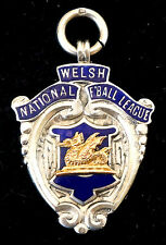 Gold & Silver North Wales Medal. Welsh National Football League Cup Winners 1925