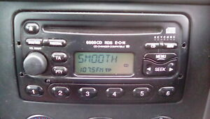 Ford Transit mk6 connect focus escort CD player Ford 6000 car stereo radio