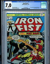 Iron Fist #1 Marvel Comics CGC 7.0 1977 1st Iron Fist