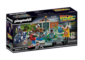 Playmobil - Back to the Future Part II Hoverboard Chase PMB70634