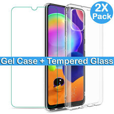 Screen Protector For Samsung Galaxy A10 A20 A20e A40 A50 A70 A30 Case Full Cover