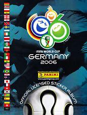 Panini WM 2006  Aus Liste 10 Sticker aussuchen