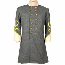 "Civil war Us Confederate General frock coat - Sizes 36""R- 54"" R,S & L Sizes"