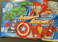 Avengers Pillow Case, Great Condition!! Thor-Hulk-Iron Man and Captain America.
