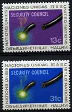 United Nations New York 1977 SG#292-3 Security Council MNH Set #D62821