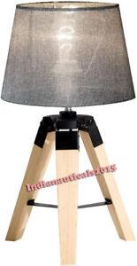 Nautical Beautiful Shade Lamp Table Tripod Stand Home Decor Item