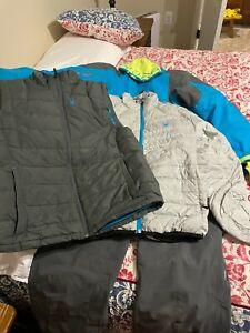Spyder Ski 2 Jacket & Pant Under Armour  Base Layer Set Men's Size Med