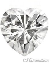 Heart Loose Synthetic Moissanites