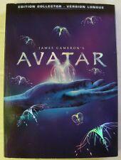 3 DVD AVATAR - Sigourney WEAVER - James CAMERON - VERSION LONGUE - COLLECTOR