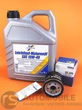 Cartechnic Aceite 10W40 de Motor+Filtro Mahle OC295 Audi seat Skoda VW