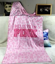 RARE & NEW Victoria's Secret PINK Spring Break Beach Towel Believe Leopard Print