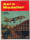 AEROMODELLER  Magazine August 1969 FLUTIER-BY F/F ORNITHOPTER Fullsize Plans