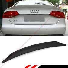 FOR 09-16 AUDI A4 S4 B9 C STYLE POLYURETHANE PU PRIMERED TRUNK LID SPOILER WING