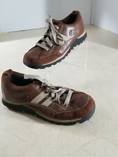 Women's SKETCHERS Brown Suede Leather, Oxfords Size 8.5 M. Casual Lace- Up