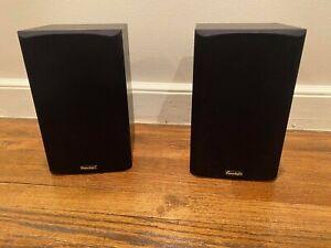 Paradigm Atom v.2 Speaker Pair Black Ash -NEW IN BOX- Vintage Home Theater