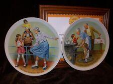 Knowles Grandparent Plate 1982 1984 Joseph Csatari Skating Queen Cookie Tasting