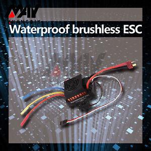 Waterproof 3650 4370KV Brushless Motor 60A ESC for 1:10 RC Car Truck set A2TD