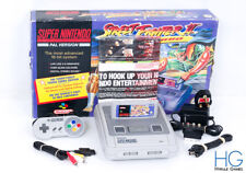 Super Nintendo SNES Street Fighter 2 Turbo Console Bundle Boxed! PAL