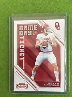 BAKER MAYFIELD ROOKIE TICKET CONTENDERS CARD RC OKLAHOMA 2018 Panini GameDay #24
