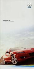 MAZDA rx-8 PROSPEKT 26.8.03 brochure 2003 auto auto prospetto opuscolo brosjyre