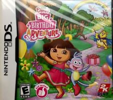 Nintendo DS Dora's Big Birthday Adventure Brand New Factory Sealed New & Sealed