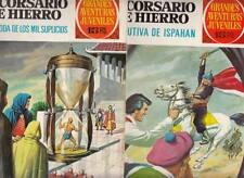 EL CORSARIO DE HIERRO:GRANDES AVENTURAS JUVENILES.SERIE ROJA Nºs.17.33 (2 NºS )