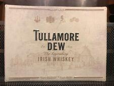 TULLAMORE DEW IRISH WHISKEY ~ NEW ~ IRISH TRUE ~ Logo Advertising Tacker Sign