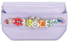 Steve Madden Pauline Mini Patent Jeweled Clutch Handbag