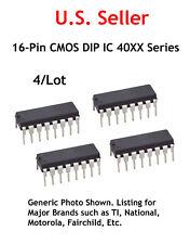 4051: 16-Pin CMOS DIP IC: 8-Channel Multiplexer/Demultiplexer: 4/Lot