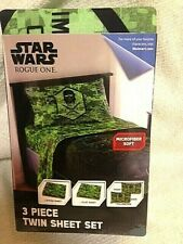 Star Wars Twin 3 Piece Sheet Set -  Rogue One