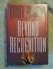 Beyond Recognition by Ridley Pearson SIGNED 1997 HCDJ 1st Edition 1st Print