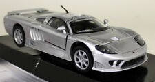 Motormax 1/24 Scale - 2005 Saleen S7 Silver Diecast model car