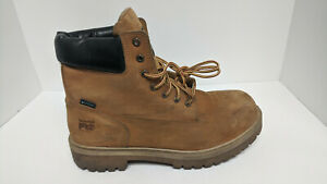 Timberland PRO Direct Attach Steel Toe Work Boots, Wheat, Men's 13 Wide