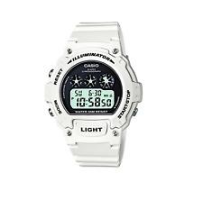 Casio Women's Digital Watch with Resin Strap W-214HC-7AVEF