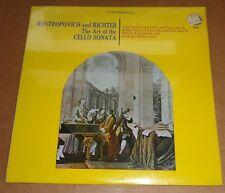 Rostropovich/Richter GRIEG/BRAHMS Cello Sonatas - Olympic 8140 SEALED