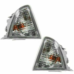 FITS TOYOTA PRIUS C 2012-2014 PARK TURN SIGNAL LIGHTS LAMPS PAIR