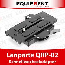 Lanparte QRP-02 Click on Quick Release Adapter / Schnellwechselplatte (EQ547)