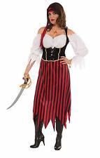 Women's Plus Size Pirate Maiden Costume Caribbean Pirate Swashbuckler