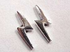 Electric Bolt Stud Earrings 925 Sterling Silver Corona Sun Jewelry Lightning