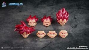 Demoniacal Fit Possessed Horse Hair Piece for Super Saiyan God Goku/ Vegeta Red